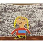 ציור של הילדה שסובבה משפחה שלמה על האצבע הקטנה - 3